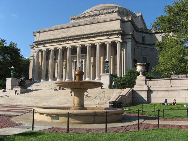 Low Library at Columbia University